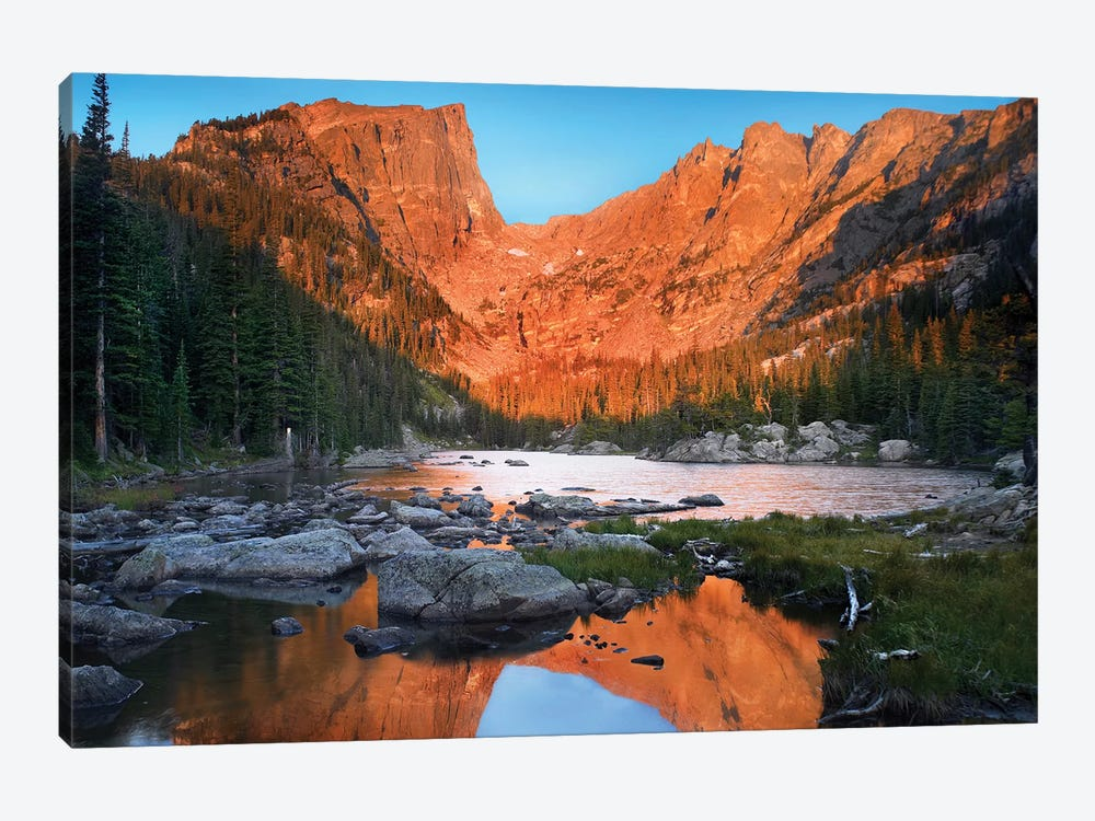 Dream Lake, Rocky Mountain National Park, Colorado by Tim Fitzharris 1-piece Canvas Art Print