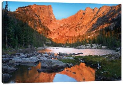 Dream Lake, Rocky Mountain National Park, Colorado Canvas Art Print