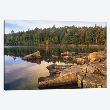 Eagle Lake, Acadia National Park, Maine Canvas Print #TFI318} by Tim Fitzharris Canvas Art