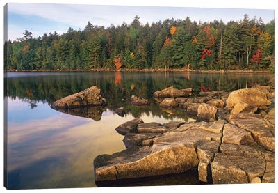 Eagle Lake, Acadia National Park, Maine Canvas Art Print