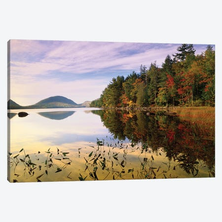 Eagle Lake, Mount Desert Island, Acadia National Park, Maine Canvas Print #TFI319} by Tim Fitzharris Canvas Art