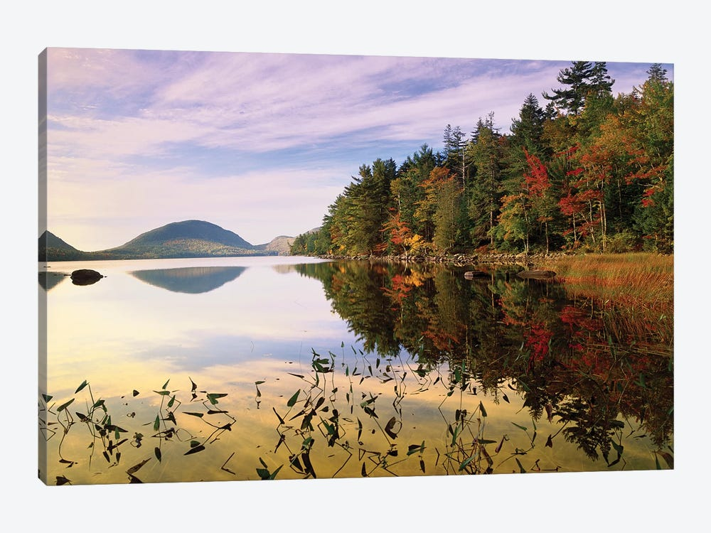 Eagle Lake, Mount Desert Island, Acadia National Park, Maine by Tim Fitzharris 1-piece Canvas Art