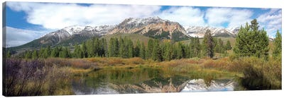 Easely Peak, Boulder Mountains, Idaho Canvas Art Print