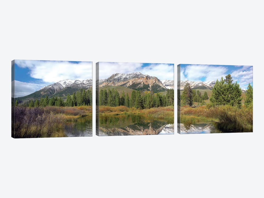 Easely Peak, Boulder Mountains, Idaho by Tim Fitzharris 3-piece Canvas Artwork