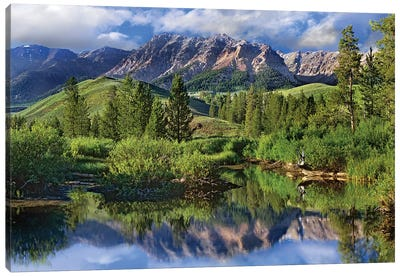 Easely Peak, Sawtooth National Recreation Area, Idaho Canvas Art Print