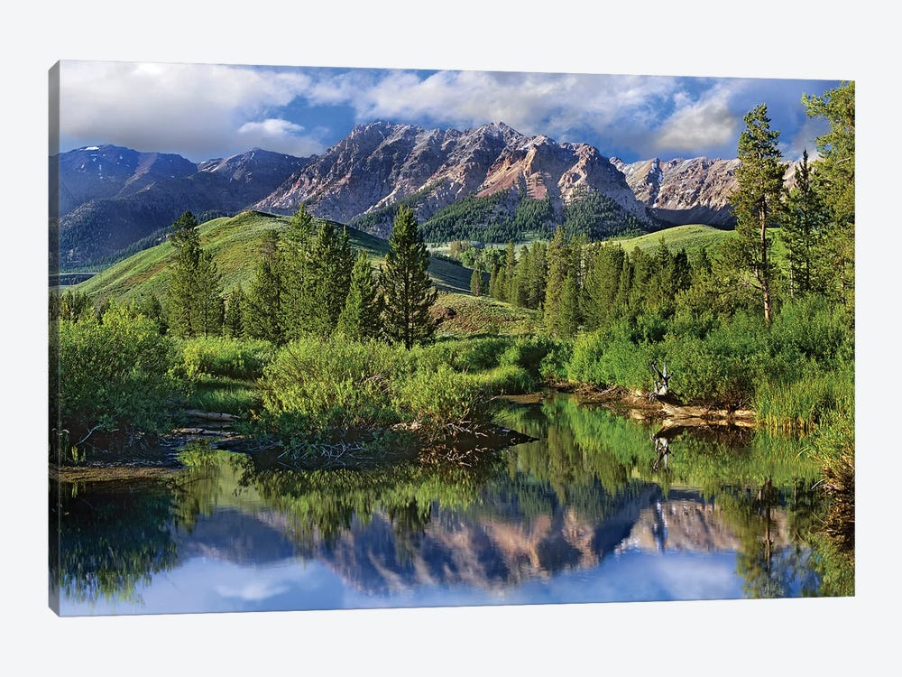 Easely Peak, Sawtooth National Recreation Area, Idaho by Tim Fitzharris 1-piece Canvas Print