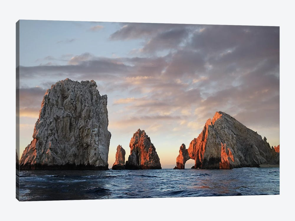 El Arco And Sea Stacks, Cabo San Lucas, Mexico I by Tim Fitzharris 1-piece Canvas Art Print