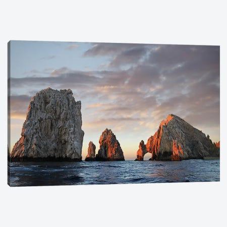 El Arco And Sea Stacks, Cabo San Lucas, Mexico I Canvas Print #TFI329} by Tim Fitzharris Art Print