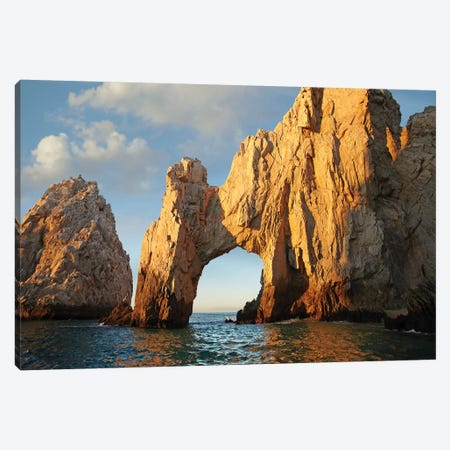 El Arco And Sea Stacks, Cabo San Lucas, Mexico II Canvas Print #TFI330} by Tim Fitzharris Canvas Art