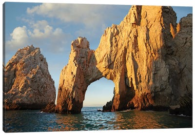 El Arco And Sea Stacks, Cabo San Lucas, Mexico II Canvas Art Print