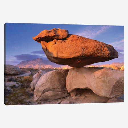 El Capitan And Balanced Rock, Guadalupe Mountains National Park, Texas II Canvas Print #TFI332} by Tim Fitzharris Canvas Artwork