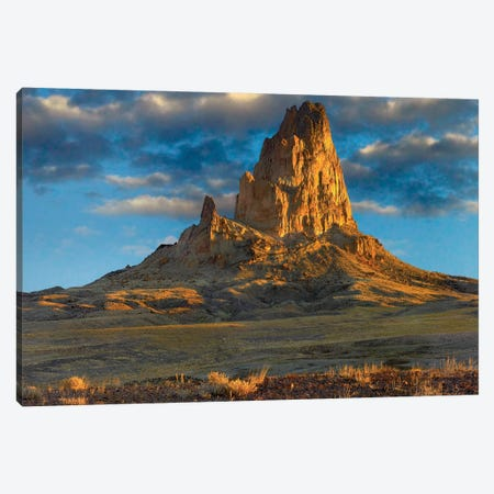 El Capitan, Also Known As Agathla Peak, The Basalt Core Of An Extinct Volcano, Monument Valley Navajo Tribal Park, Arizona Canvas Print #TFI335} by Tim Fitzharris Canvas Print