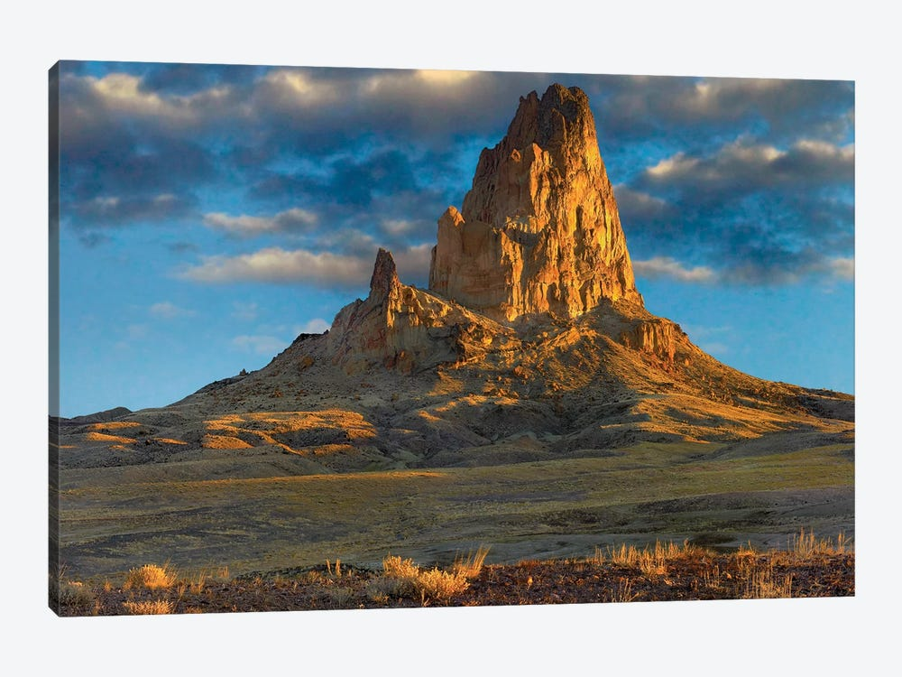 El Capitan, Also Known As Agathla Peak, The Basalt Core Of An Extinct Volcano, Monument Valley Navajo Tribal Park, Arizona by Tim Fitzharris 1-piece Canvas Artwork