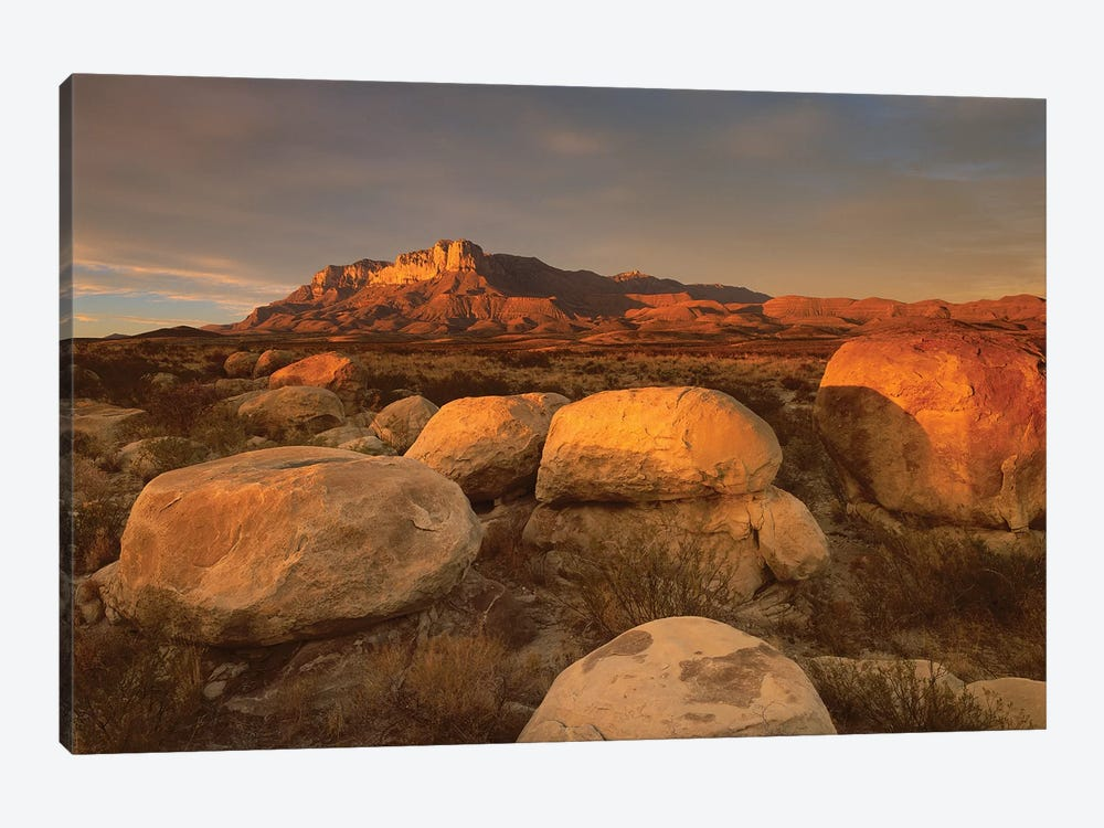 El Capitan, Guadalupe Mountains National Park, Texas I by Tim Fitzharris 1-piece Canvas Print