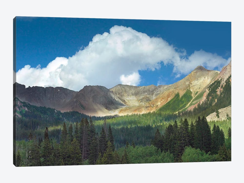 Elk Mountains Near Crested Butte, Colorado by Tim Fitzharris 1-piece Canvas Art Print