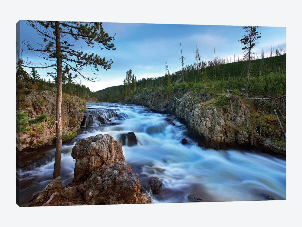 Firehole River, Yellowstone National Park, Wyoming by Tim Fitzharris 1-piece Canvas Wall Art