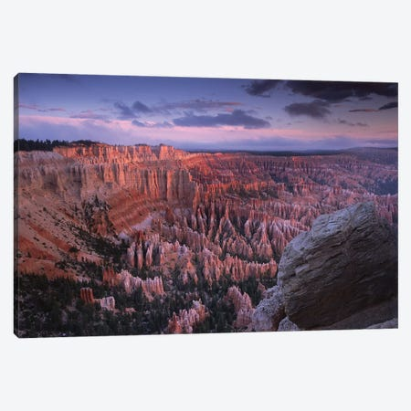 Amphitheater From Bryce Point, Bryce Canyon National Park, Utah Canvas Print #TFI38} by Tim Fitzharris Canvas Print