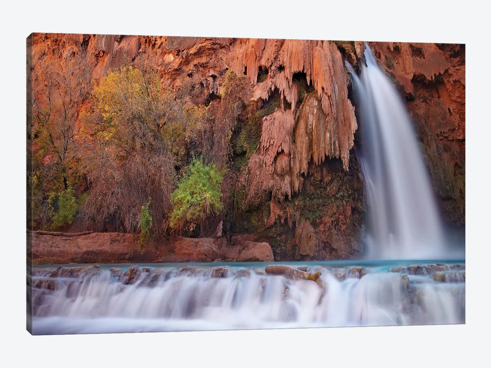 Havasu Falls, Grand Canyon, Arizona I by Tim Fitzharris 1-piece Canvas Artwork
