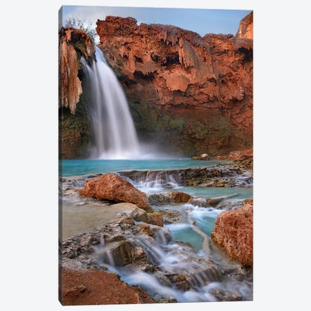 Havasu Falls, Grand Canyon, Arizona III Canvas Print #TFI458} by Tim Fitzharris Canvas Print