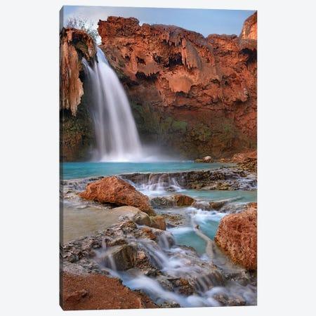 Havasu Falls, Grand Canyon, Arizona III Canvas Print #TFI458} by Tim Fitzharris Canvas Print