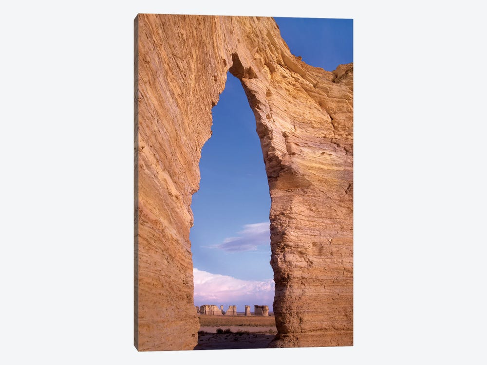 Arch In Monument Rocks National Landmark, Kansas I by Tim Fitzharris 1-piece Canvas Art Print