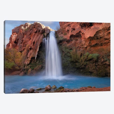 Havasu Falls, Grand Canyon, Arizona V Canvas Print #TFI460} by Tim Fitzharris Canvas Artwork