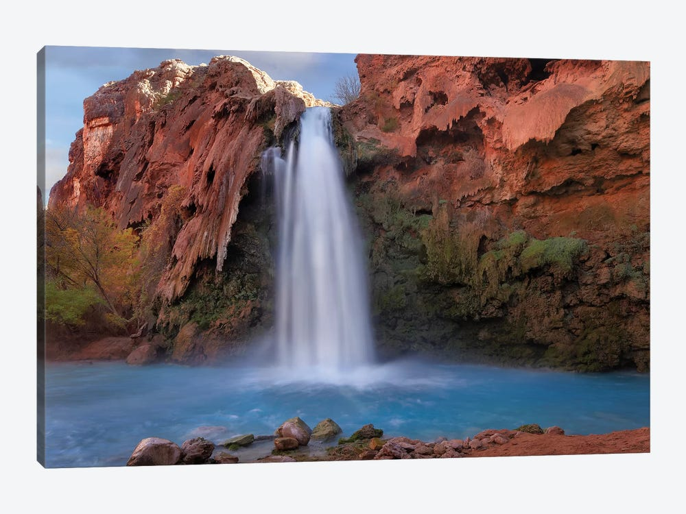 Havasu Falls, Grand Canyon, Arizona V by Tim Fitzharris 1-piece Canvas Print