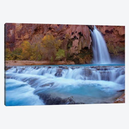 Havasu Falls, Grand Canyon, Arizona VI Canvas Print #TFI461} by Tim Fitzharris Canvas Wall Art