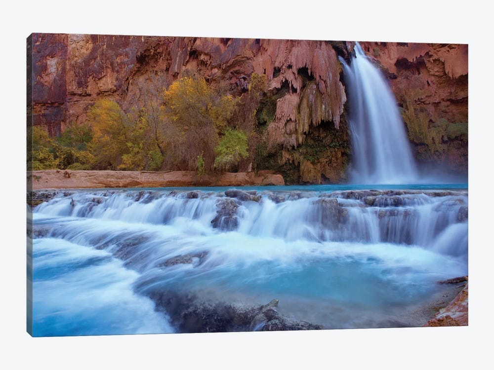 Havasu Falls, Grand Canyon, Arizona VI by Tim Fitzharris 1-piece Canvas Artwork
