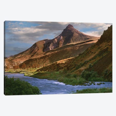 John Day River Near Dayville, Oregon Canvas Print #TFI484} by Tim Fitzharris Art Print