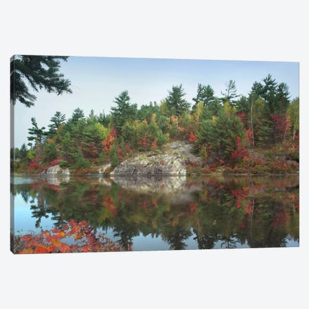 Lake Near French River, Ontario, Canada Canvas Print #TFI503} by Tim Fitzharris Art Print