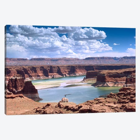 Lake Powell, Glen Canyon National Recreation Area, Utah Canvas Print #TFI504} by Tim Fitzharris Canvas Artwork