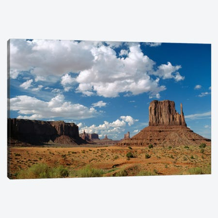 Landscape View, Monument Valley Navajo Tribal Park, Arizona Canvas Print #TFI509} by Tim Fitzharris Art Print