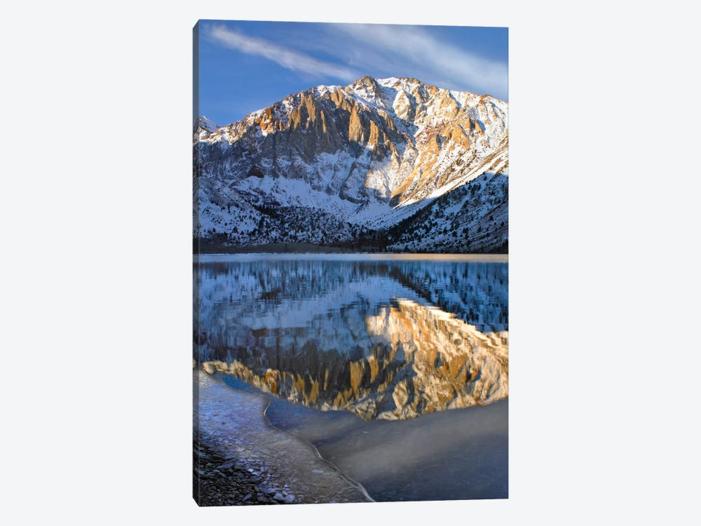 Laurel Mountain Reflected In Convict Lake, Eastern Sierra Nevada, California I by Tim Fitzharris 1-piece Art Print