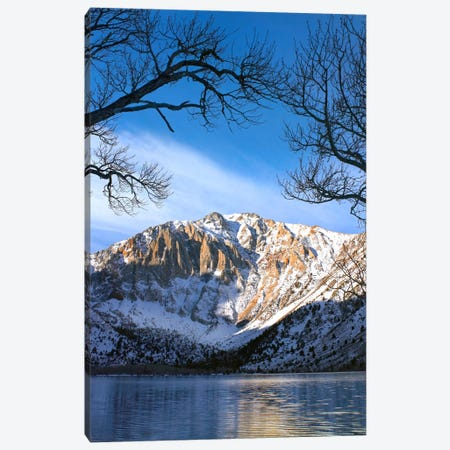 Laurel Mountain Reflected In Convict Lake, Eastern Sierra Nevada, California II Canvas Print #TFI522} by Tim Fitzharris Canvas Art Print