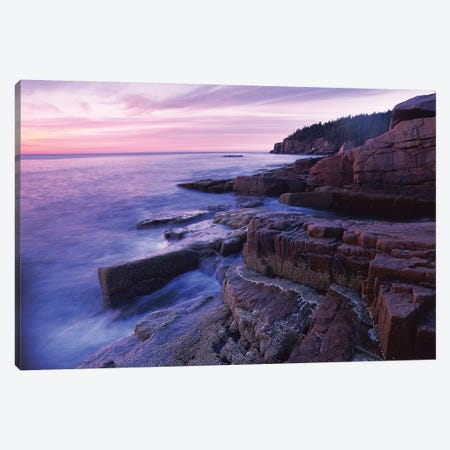 Atlantic Coast Near Thunder Hole, Acadia National Park, Maine II Canvas Print #TFI54} by Tim Fitzharris Canvas Wall Art