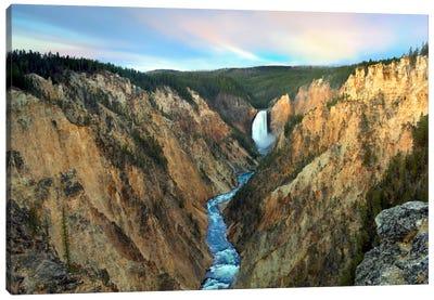 Lower Yellowstone Falls, Yellowstone National Park, Wyoming III Canvas Art Print