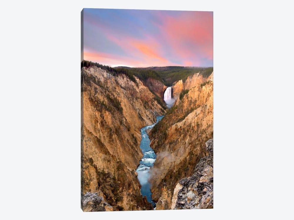 Lower Yellowstone Falls, Yellowstone National Park, Wyoming IV by Tim Fitzharris 1-piece Canvas Art Print