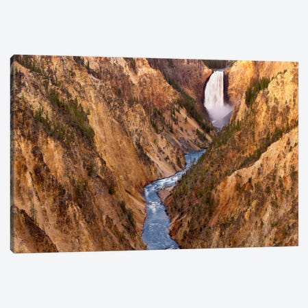 Lower Yellowstone Falls, Yellowstone National Park, Wyoming V Canvas Print #TFI553} by Tim Fitzharris Canvas Art