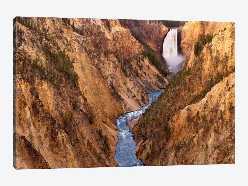 Lower Yellowstone Falls, Yellowstone National Park, Wyoming V by Tim Fitzharris 1-piece Canvas Wall Art