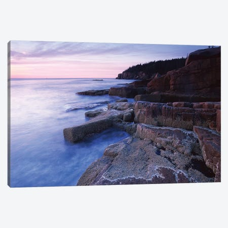 Atlantic Coast Near Thunder Hole, Acadia National Park, Maine IV Canvas Print #TFI56} by Tim Fitzharris Canvas Art