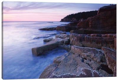 Atlantic Coast Near Thunder Hole, Acadia National Park, Maine IV Canvas Art Print