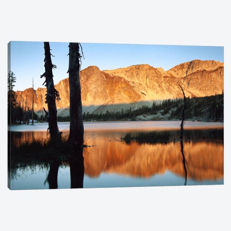 Medicine Bow Mountains, Wyoming Canvas Print #TFI587} by Tim Fitzharris Canvas Artwork
