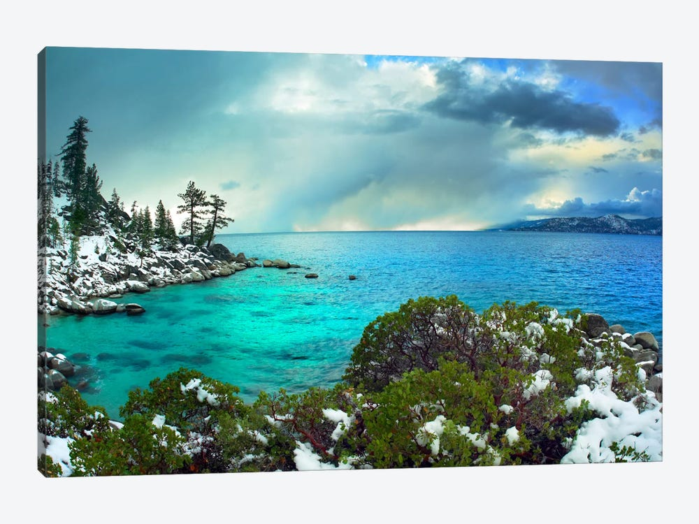 Memorial Point, Lake Tahoe, Nevada I by Tim Fitzharris 1-piece Canvas Artwork