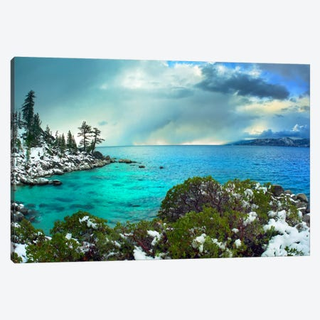 Memorial Point, Lake Tahoe, Nevada I Canvas Print #TFI588} by Tim Fitzharris Art Print