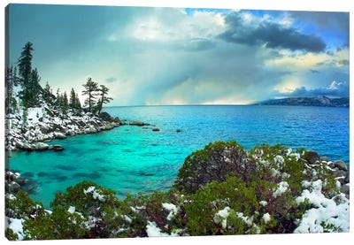 Memorial Point, Lake Tahoe, Nevada I Canvas Art Print