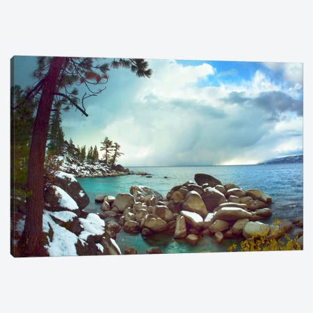 Memorial Point, Lake Tahoe, Nevada II Canvas Print #TFI589} by Tim Fitzharris Canvas Print