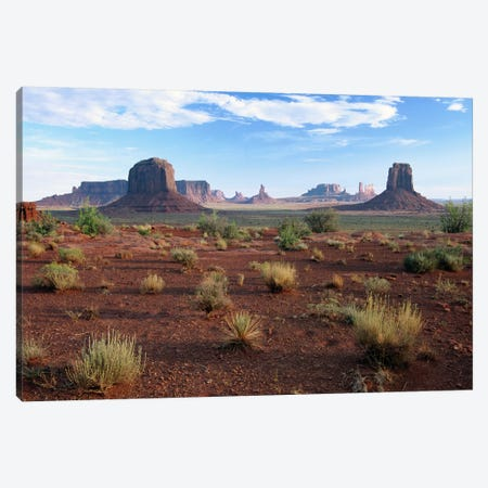 Monument Valley From North Window Viewpoint, Arizona Canvas Print #TFI606} by Tim Fitzharris Art Print