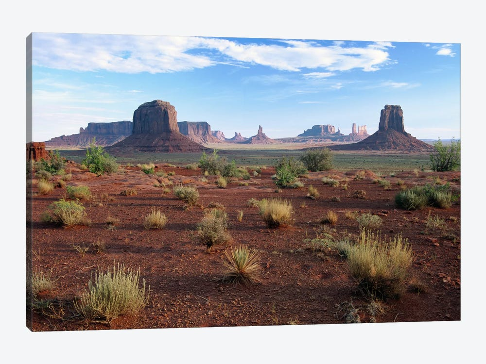 Monument Valley From North Window Viewpoint, Arizona by Tim Fitzharris 1-piece Canvas Artwork