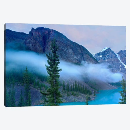 Moraine Lake In The Valley Of Ten Peaks, Banff National Park, Alberta, Canada Canvas Print #TFI618} by Tim Fitzharris Canvas Art Print